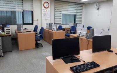 정보화교육실 모니터