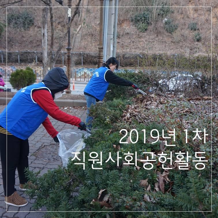 2019년 1차 직원사회공헌활동